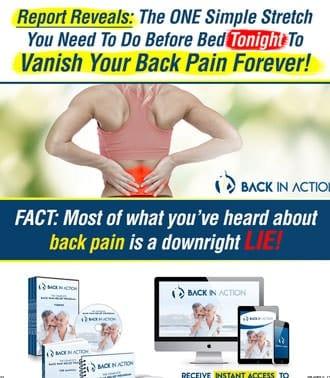 יצירת עמוד נחיתה למוצרים להקלת כאבי גב