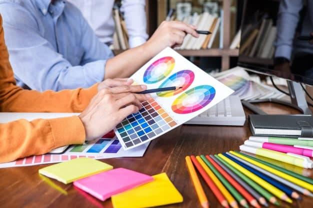 בחירת צבעים למיתוג עסקי