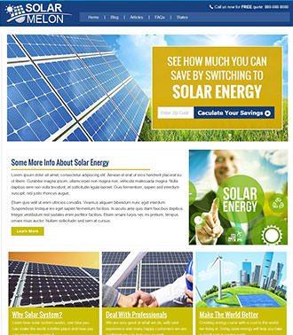 בניית אתר אנרגיה סולארית