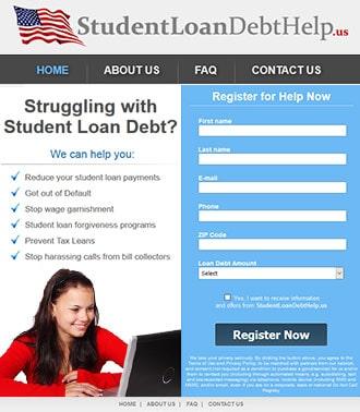 בניית אתר וורדפרס להלוואות סטודנטים